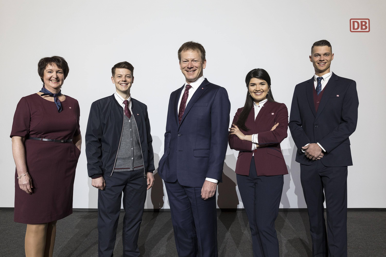 Die neue Unternehmensbekleidung der DB