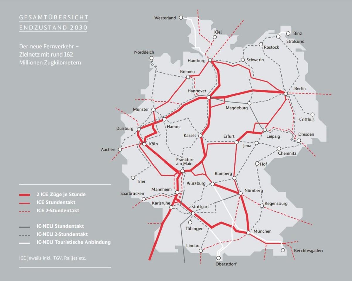 deutschland bahn karte Der neue Fernverkehr der DB | Deutsche Bahn AG