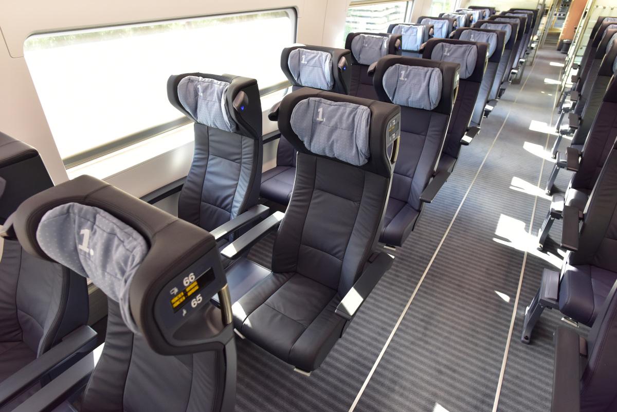Der ICE 4 setzt neue Standards für Fahrgäste