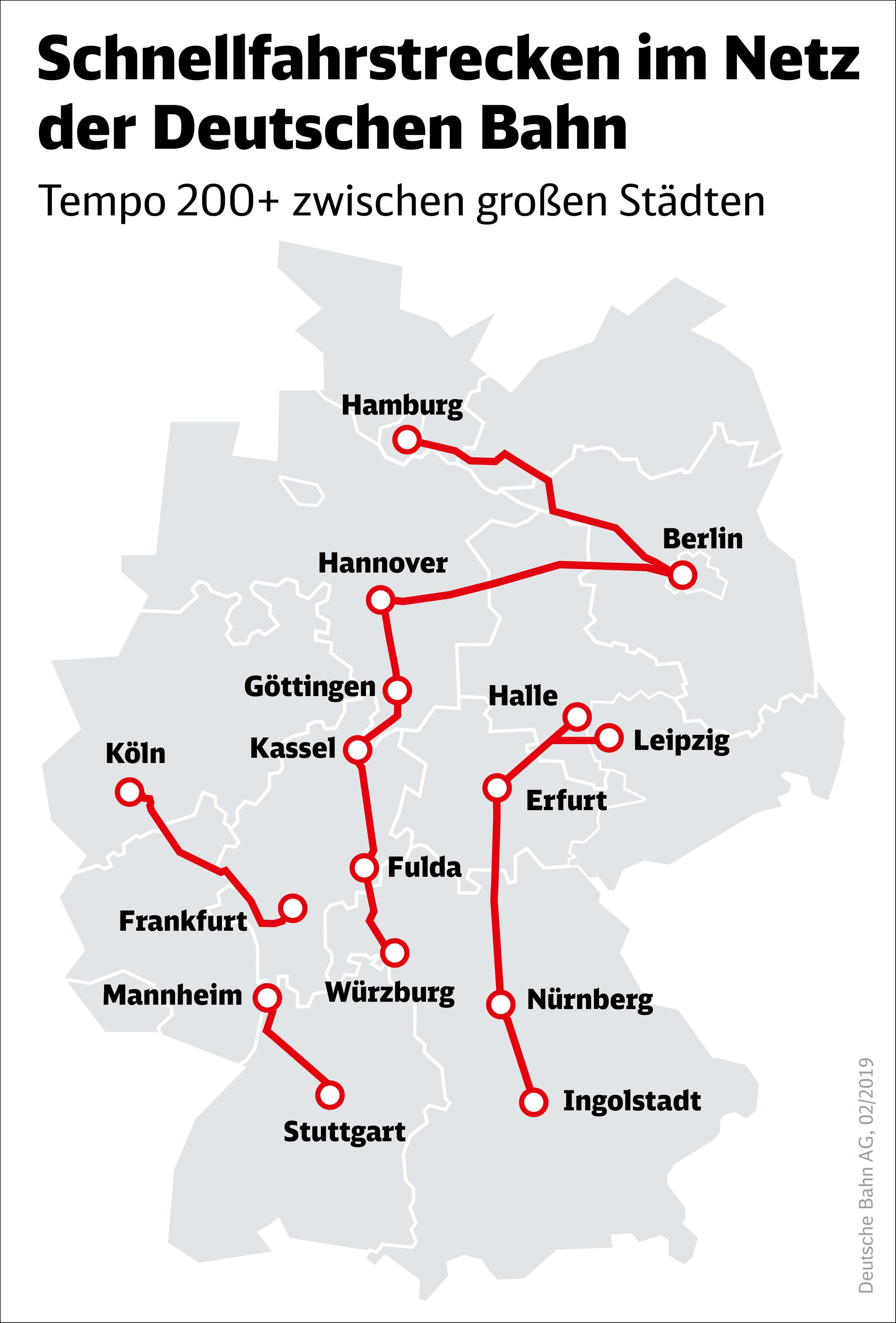 Db Karte Berlin.Nachste Etappe Der Schienennetz Modernisierung