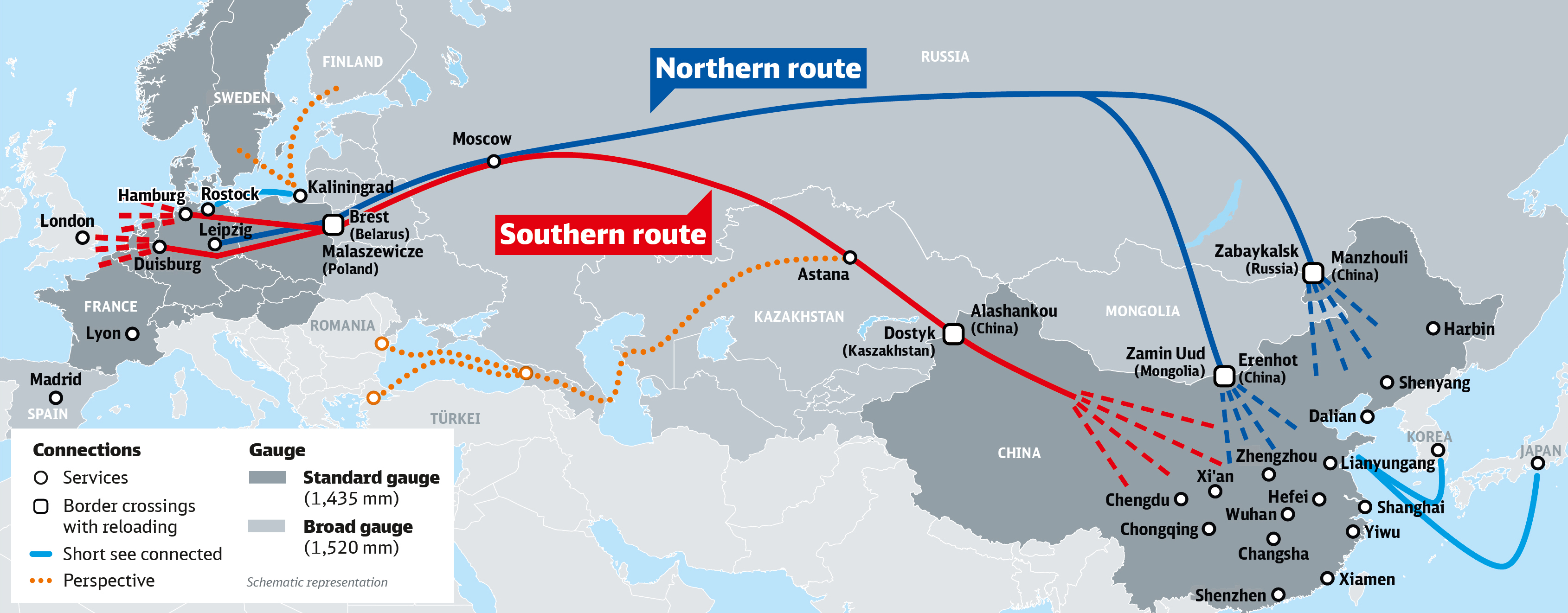 deutsche bahn karte Success story in the Far East: ten years of service to China