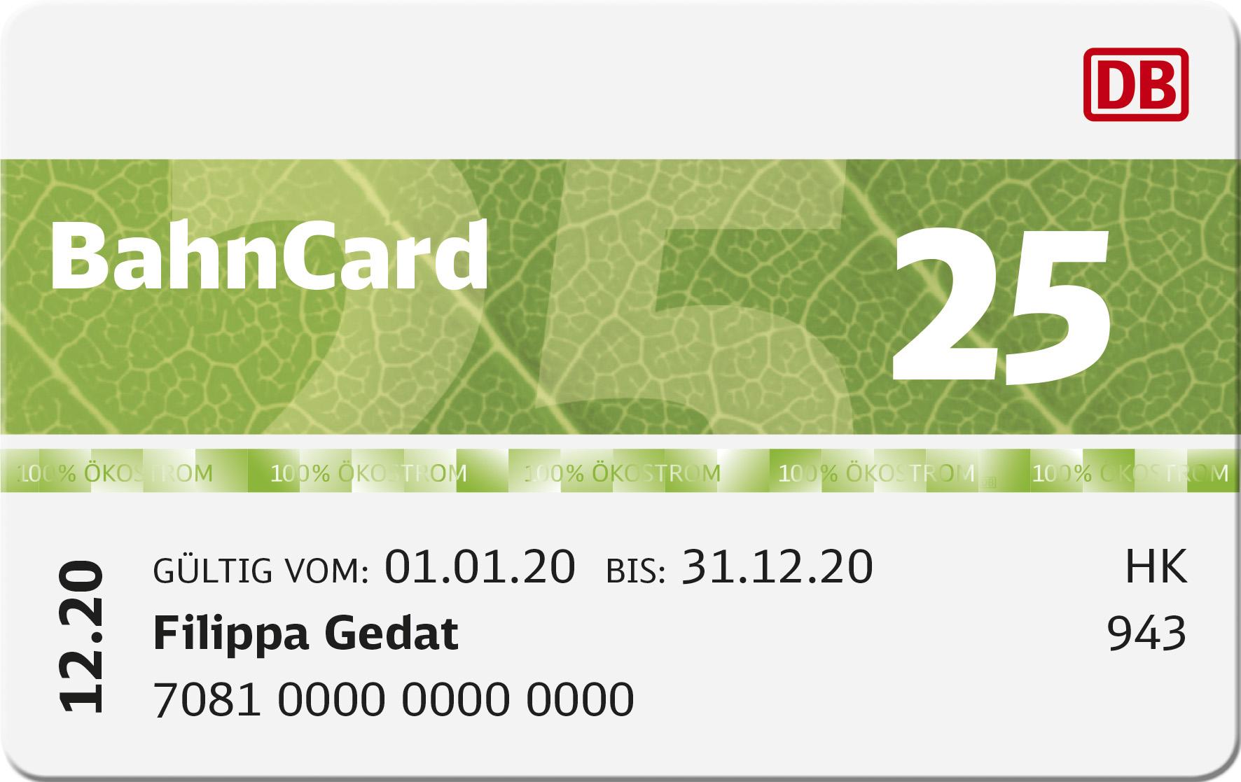 ab wann lohnt sich bahncard 25