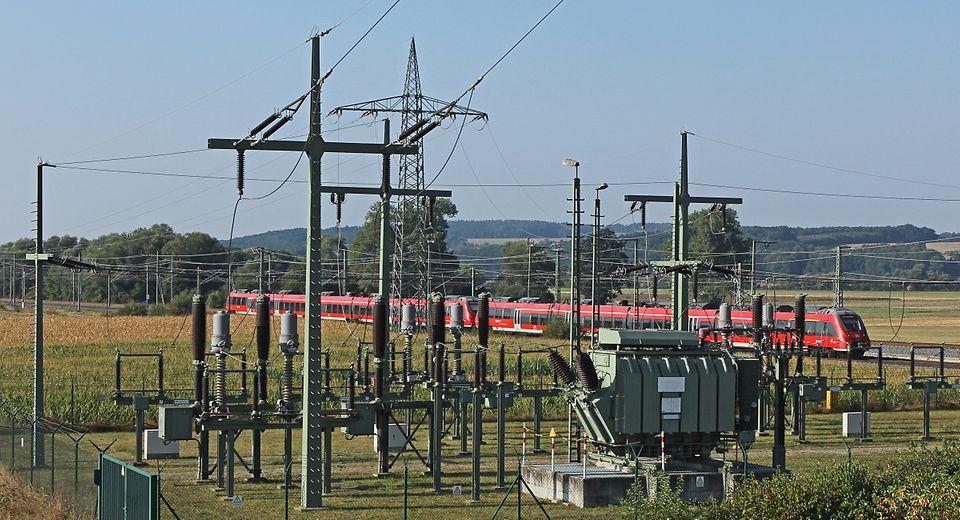 DB Energie - Umspannwerk bei Ebenfeld
