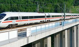 ICE T auf der Strecke Berlin - München