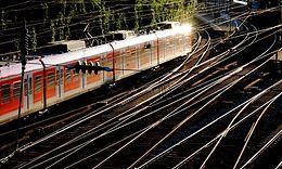 S-Bahn Rhein-Ruhr im Vorfeld des Bahnhofes Wuppertal Hbf