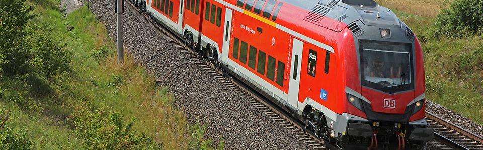 DB Regio Baureihe 102 mit Dosto (Skoda) für Nürnberg-Ingolstadt-München