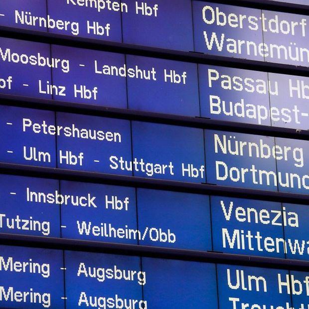 Aktuelle Betriebslage In Bayern Deutsche Bahn Ag