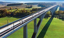 VDE 8: Grümpentalbrücke zwischenErfurtund Nürnberg