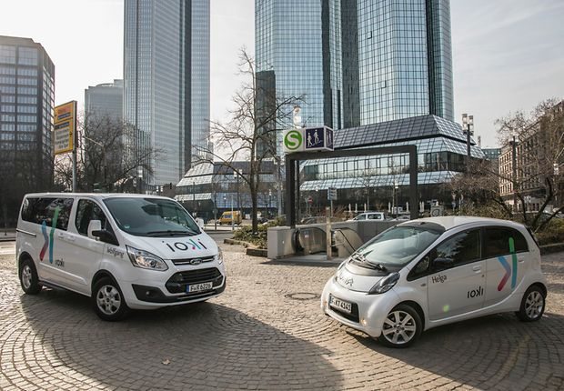ioki enables on-demand mobility in the city and in the countryside.