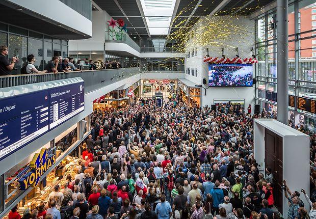 Eröffnungsfeier im neuen Hauptbahnhof Münster (Westf.)