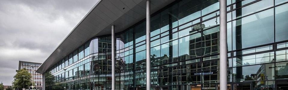 Der neue Hauptbahnhof in Münster (Westf.)