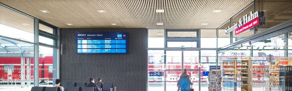 Wartebereich Grüner Bahnhof Lutherstadt Wittenberg