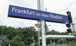 "Verkehrsstation ""Frankfurt am Main Stadion"""