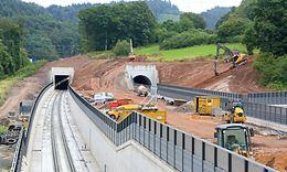 Bauarbeiten Hanau - Nantenbach