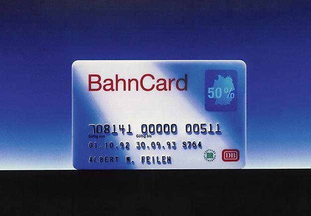 Die BahnCard 1992