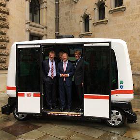 """Deutsche Bahn und Hamburg vereinbaren """"Smart City""""-Partnerschaft"""