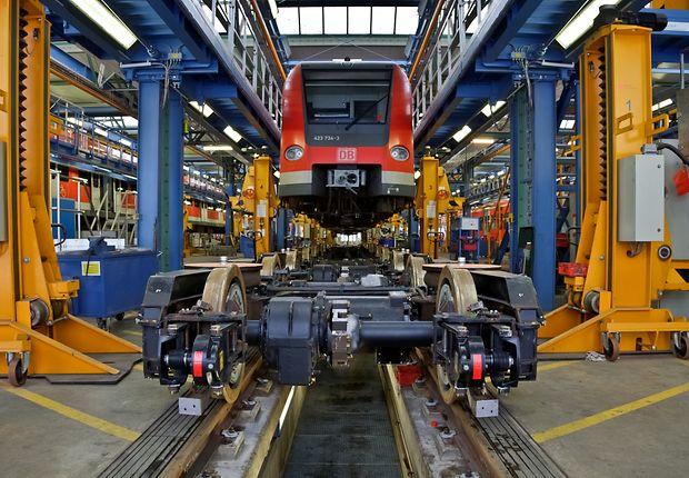 Neue Drehgestelle für den Regionalzug