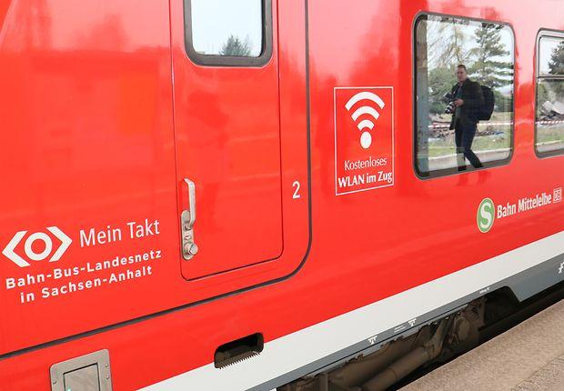Internetzugang in Nahverkehrszügen der Elbe-Saale-Bahn