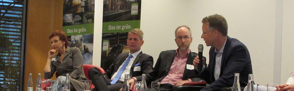 Umweltpolitische Diskussion mit den Abgeordneten Marie-Luise Dött, Bärbel Höhn, Ralph Lenkert und Klaus Mindrup