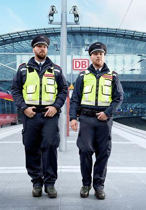 DB Sicherheit - Präsenz- und Präventionsstreife an Verkehrsstation