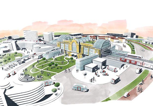 So kann die Smart City aussehen.