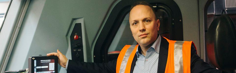 """""""LEADER"""" assistiert Lokführern beim energiesparenden Fahren im Güterverkehr"""