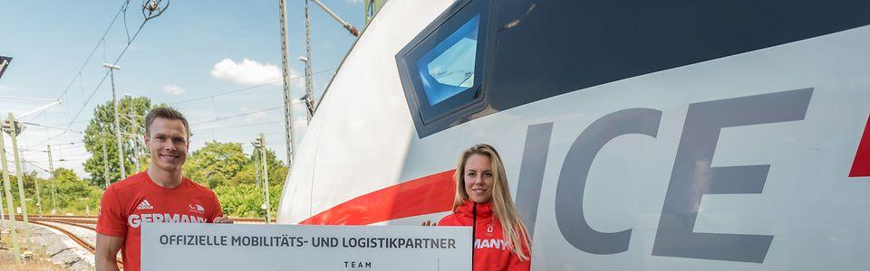 Deutsche Bahn Partner vom Olympia Team Deutschland und der Deutschen Paralympischen Mannschaft
