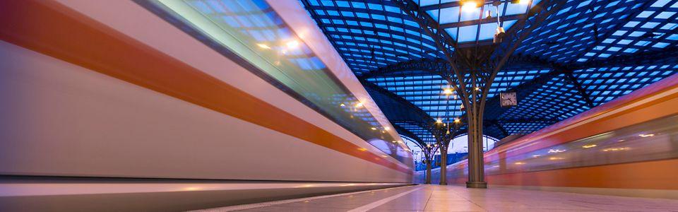 Bahnsteighalle Köln Hauptbahnhof