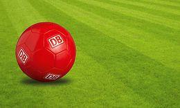 DB Fußball auf dem Rasen