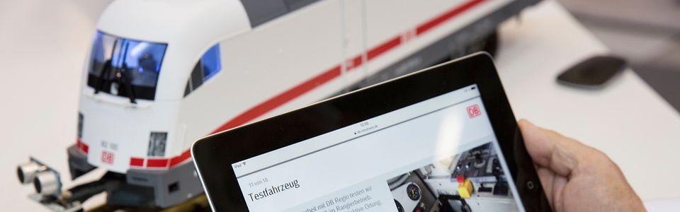 DB zeigt auf der InnoTrans 2016 ihre digitale Kompetenz