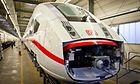 Endwagen-Montage am ICE 4 im Werk Hennigsdorf von Bombardier