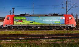 Grüne Lok Cargo