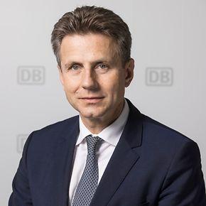 "Alexander Doll, Vorstand ""Güterverkehr und Logistik"". Copyright DB AG / Pablo Castagnola."