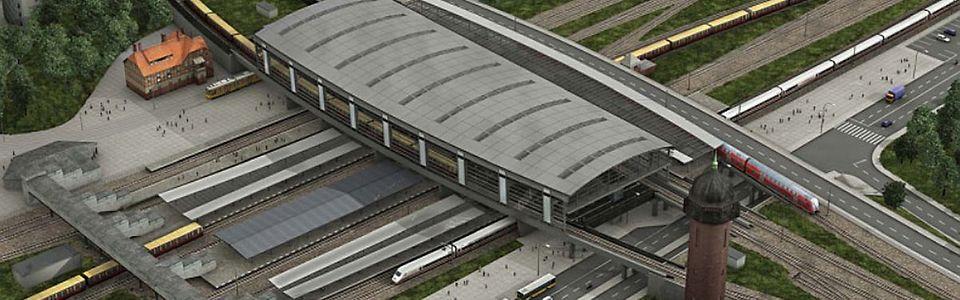 Visualisierung: Der zukünftige Bahnhof Ostkreuz
