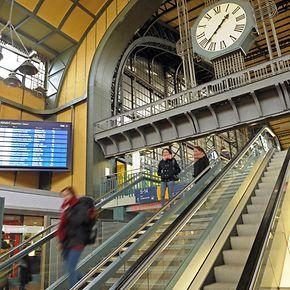 Derzeit wird AIM an rund einem Dutzend Rolltreppen erprobt, etwa inHamburg.