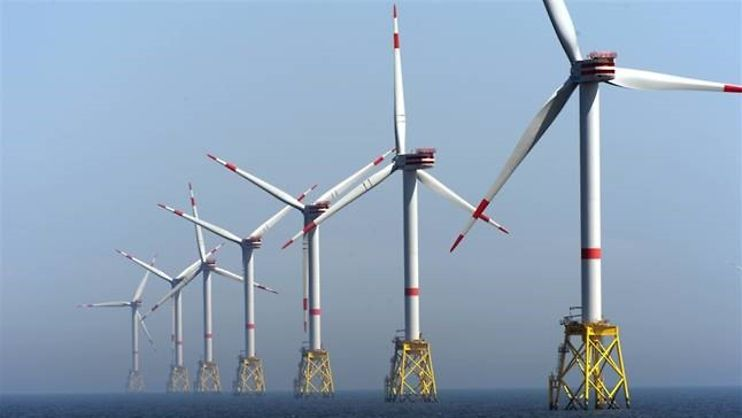 Offshore Windpark Nordsee