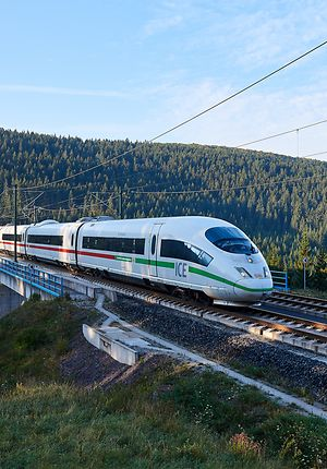 With the green transformation we are making the Deutsche Bahn even greener and more sustainable.