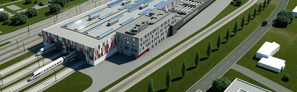 Ab 2025 wird gebaut. Zwei Jahre später soll es in Betrieb gehen. Das neue ICE-Werk in Dortmund.