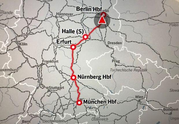 Berlin, wir kommen! In einer Stunde startet die Festveranstaltung am Berliner Hauptbahnhof