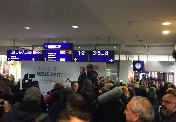 Medienrummel in Erfurt