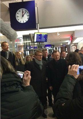 Ministerpräsident Bodo Ramelow ist in Erfurt eingetroffen