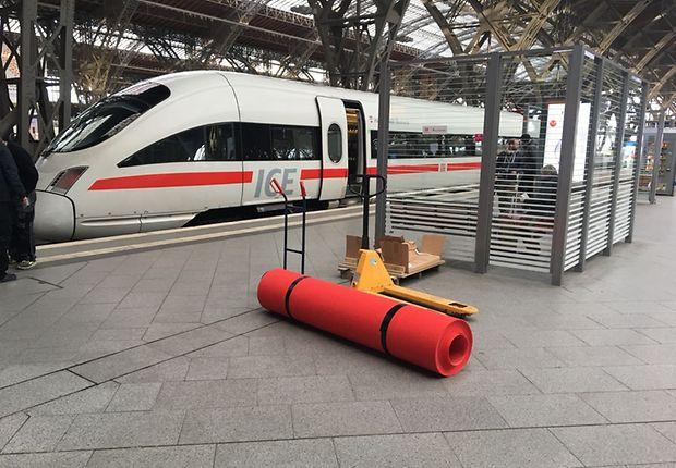 In Leipzig wird der rote Teppich ausgerollt